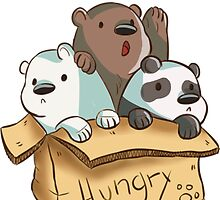 We Bare Bears - Hungry! by SharpieSam