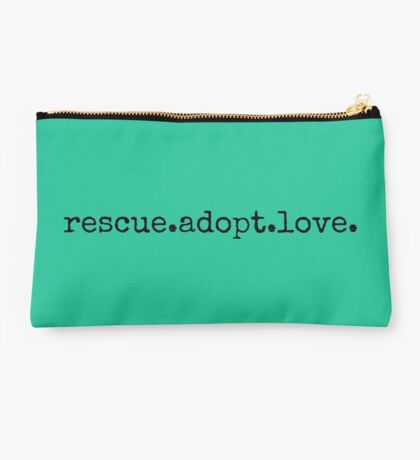 rescue.adopt.love Studio Pouch