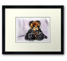 Lonely Bear Framed Print