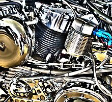 Harley Engine Study by RoySorenson