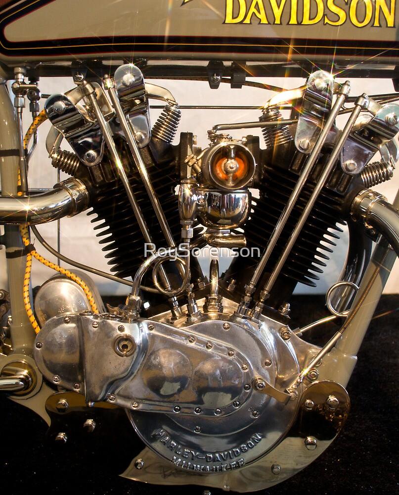 Antique Harley Davidson Motor by RoySorenson