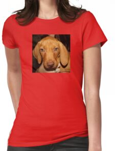 Adorable Vizsla Puppy Womens Fitted T-Shirt