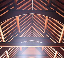 The Ceiling of a Chapel by Cora Wandel