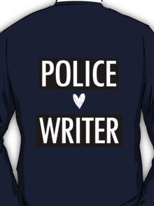Castle - Police/Writer T-Shirt