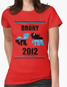 Brony 2012  Womens Fitted T-Shirt