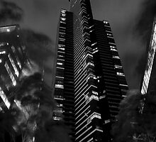 Dark Tower BW by DavidsArt