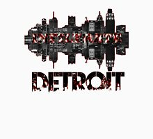 Infiltrating Detroit (Style Neveau) Men's Baseball ¾ T-Shirt