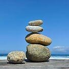 Zen Stones by Mariannne Campolongo