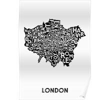 London Poster - Mono Poster
