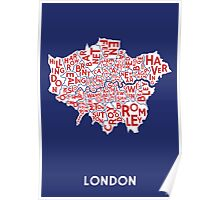 London Poster - Union Jack Poster