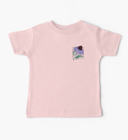 E is for Echinacea - patch Baby Tee