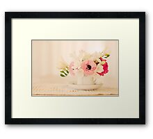 I Must Have Flowers, Always, and Always.... Framed Print