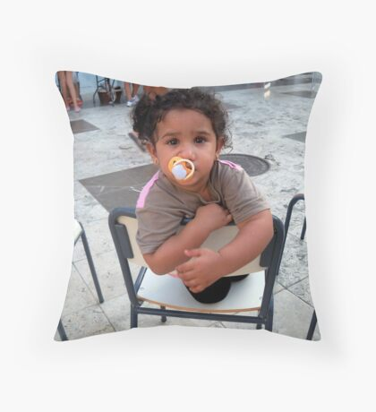 Here,s looking at you kid. Throw Pillow