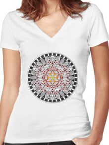 Quicksilver Yantra Women's Fitted V-Neck T-Shirt
