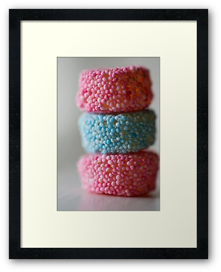 a neat pile of sweet by Hege Nolan