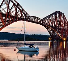Forth Rail Bridge, Scotland by Jim Wilson