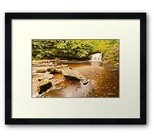 Clear Water at West Burton Framed Print