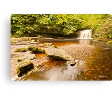 Clear Water at West Burton Canvas Print