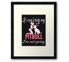 My Pitbull Framed Print