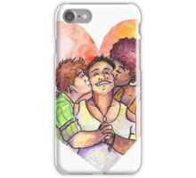 Today (Even Polyamorous) Love Wins iPhone Case/Skin