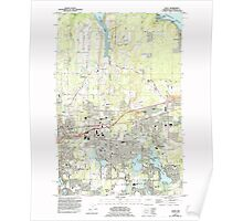 USGS Topo Map Washington State WA Lacey 241851 1959 24000 Poster