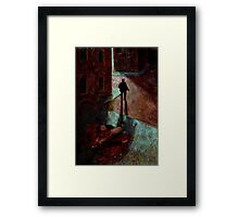 Altered, Mitre Square Murder Framed Print