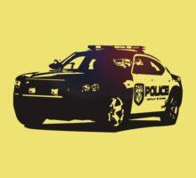 Cop Car Kids Clothes