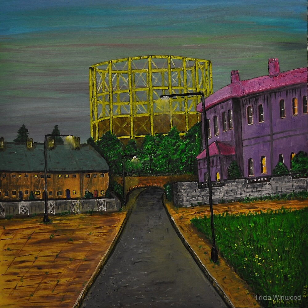 Gasometer by Tricia Winwood