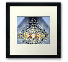 The Crystal Framed Print