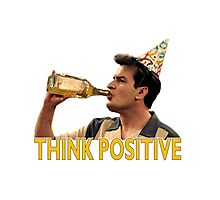 Think Positive Photographic Print