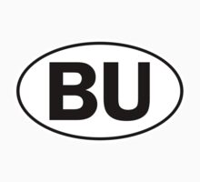 BU - Oval Identity Sign by Ovals