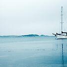 Yacht Lady Baron Flinders Island by Andrew  Makowiecki