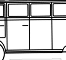 VW Wagon Sticker