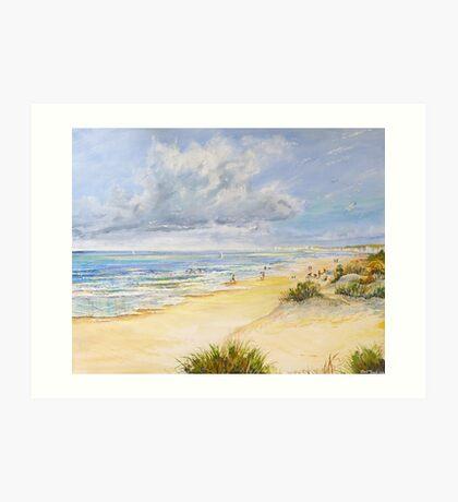 Studland Beach Art Print