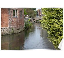 River Stour Canterbury Poster