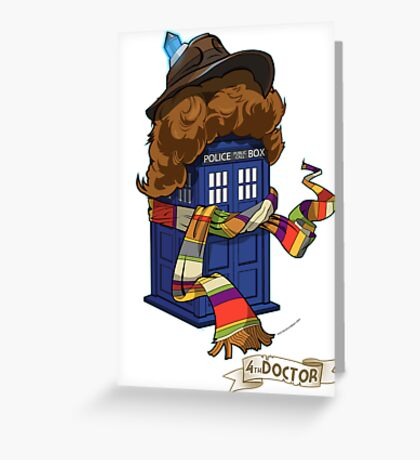 Time Lord 2 Greeting Card