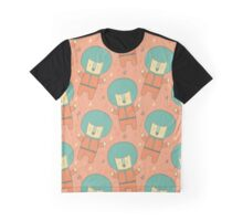 Bearly There in Dreamsickle  Graphic T-Shirt
