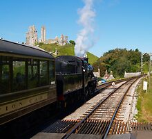 Waiting at Corfe by Mike Streeter
