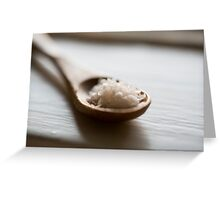 wooden spoon Greeting Card