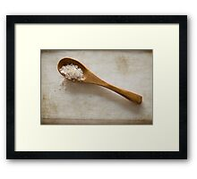 wooden spoon 2 Framed Print
