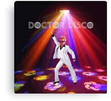 Doctor Disco Canvas Print