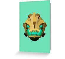 Illaoi Shield (SMALL) Greeting Card