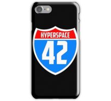 Hyperspace 42 iPhone Case/Skin
