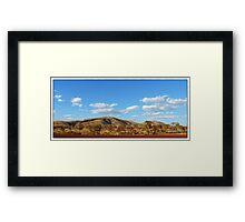 Tom Price Landscape Framed Print