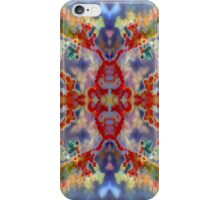 Rainbow Snowflake (Plume Agate) iPhone Case/Skin