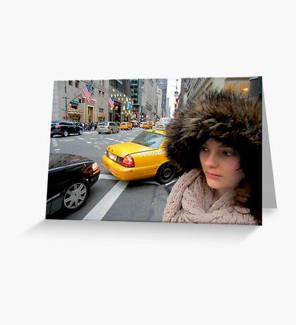 Dove la mia macchina? NY Greeting Card