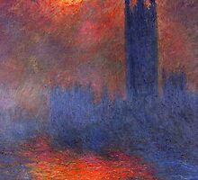 Parliament - Monet by IntWanderer