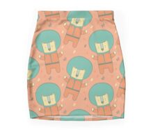 Bearly There in Dreamsickle  Pencil Skirt