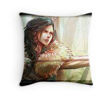 Bandit Regina and Henry Throw Pillow