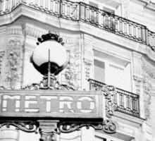 Faded Paris Sticker